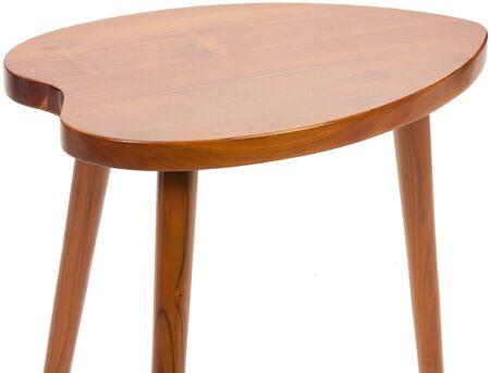 Photo pour Small antique wooden table isolated - image libre de droit