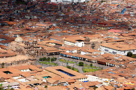 view of Cusco - Peru South America