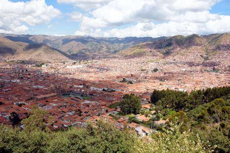 view of Cusco - Peru South America