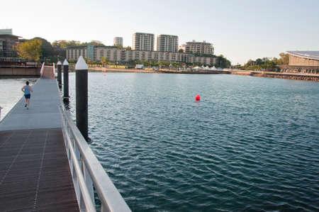 view of the modern district in Darwin, Australia