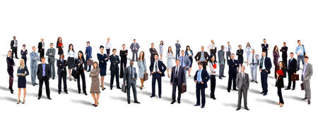 Photo for Young attractive business people - the elite business team - Royalty Free Image
