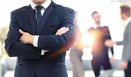 Photo pour Business people meeting around table - image libre de droit