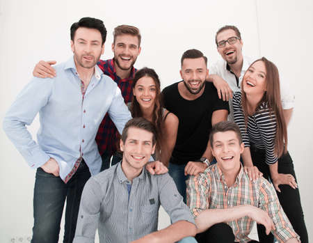 Photo pour group portrait of creative business team - image libre de droit