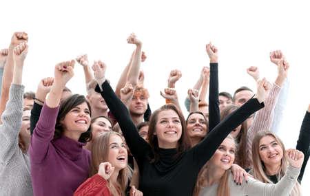 Foto de close up. young medical professionals standing together - Imagen libre de derechos