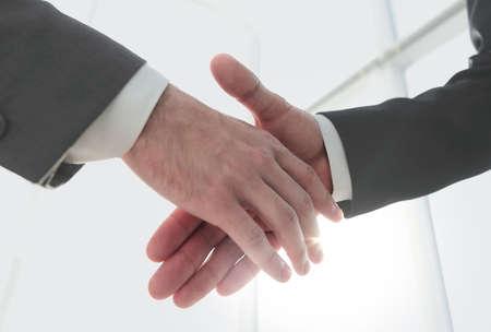 Photo pour Effective negotiation with client. Business concept photo. - image libre de droit