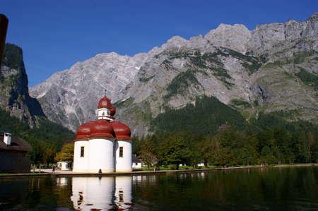 The Chapel St. Bartholomae in Bavaria, Germany