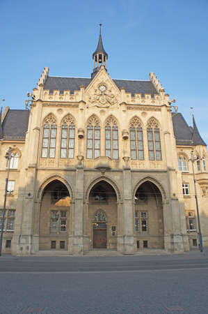 The City Hall in Erfurt, Thuringia, Germany