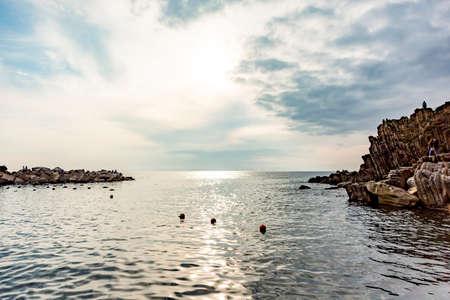 CinqueTerre, world cultural heritage on the Italian Mediterranean coast