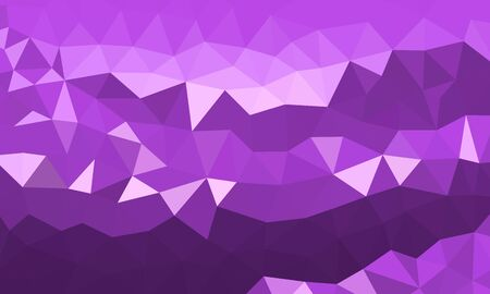 Illustration for low poly background purple color - Royalty Free Image