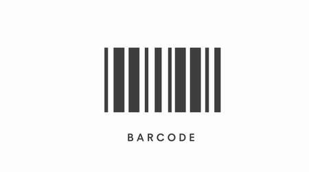 Ilustración de Barcode Icon. Vector isolated illustration of a barcode - Imagen libre de derechos
