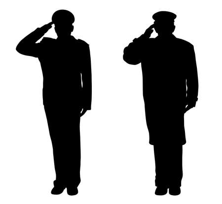 兵士、役人、キャプテン、警官、...