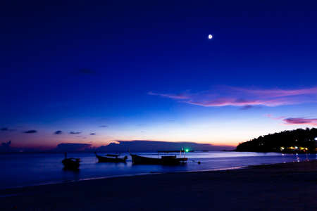 Photo for Night on the beach of Koh Lipe Island, Thailand. - Royalty Free Image
