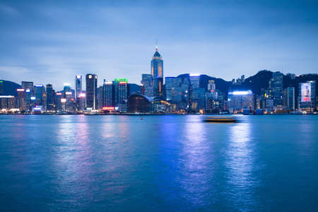 Hong Kong In Blue