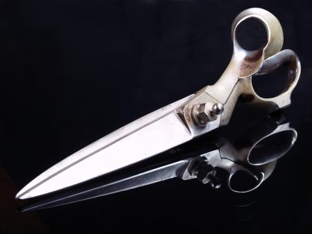 Big tailor scissors.