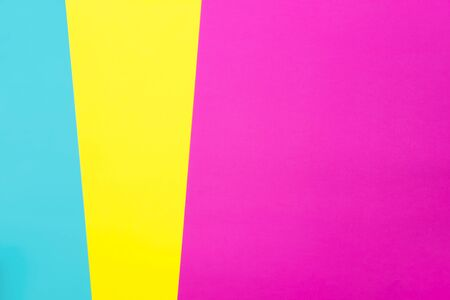 Photo for Abstract different multicolored neon backgrounds with place for text. Top view. - Royalty Free Image