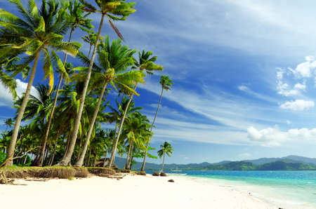 Foto de Beautiful seascape. Sky and sea. - Imagen libre de derechos