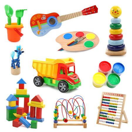 Photo pour Toys collection - image libre de droit