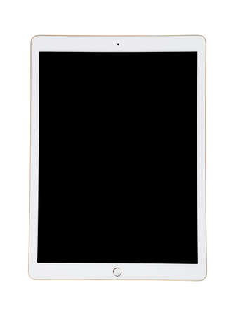 Photo for White Ipad tablet with black screen for your picture - Royalty Free Image