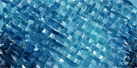 Photo for futuristic modern tech stripes background with teal blue, powder blue and very dark blue colors. - Royalty Free Image