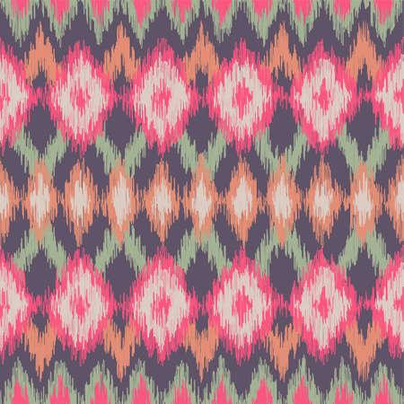 Pastel Ikat Pattern