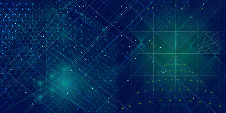 Photo for Sacred geometry symbols and elements background. Cosmic, universe, bing bang, alchemy, religion, philosophy, astrology, science, physics, chemistry and spirituality themes - Royalty Free Image