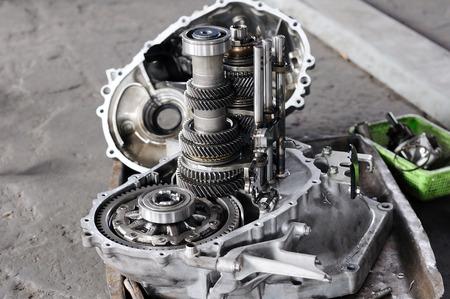 Photo pour Spare part of transmission car system - image libre de droit