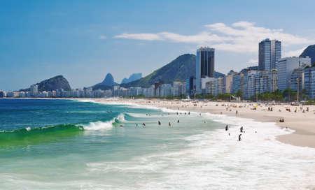 view of Copacabana beach in