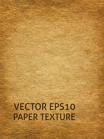 Illustration pour Aged craft paper background - image libre de droit