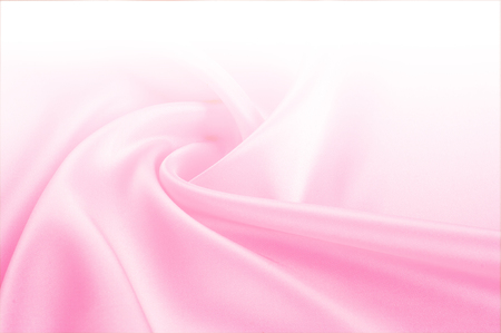 Foto de Texture, background, pattern. Light beige, pink shades of silk fabric, text space. Pink silk background based on natural texture - Imagen libre de derechos