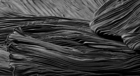 Texture, background, pattern, Cloth Pleated Gray Black. You may want to align this fabric, although it is not too clean. Ideal solution for your design, and other creative projects
