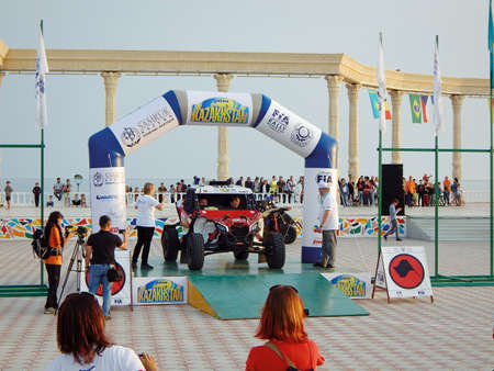 Aktau - May 27 2019. Opening FIA WORLD CUP RALLY 2019 KAZAKHSTAN.