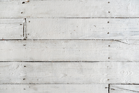 Photo for Texture of painted floor boards with white paint - Royalty Free Image