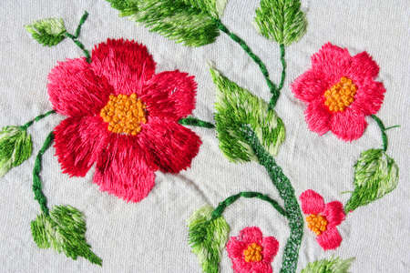Photo pour turkish embroidery example - image libre de droit