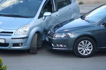 Photo pour traffic accident - image libre de droit