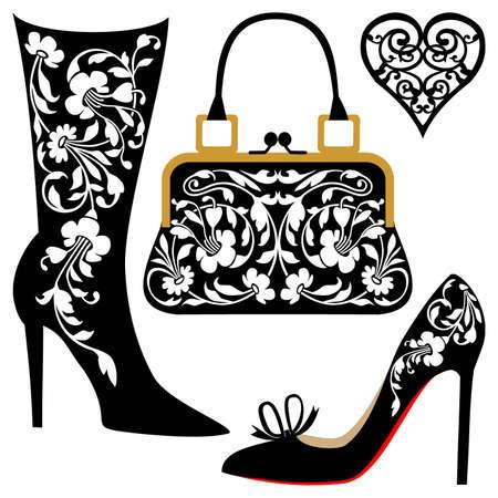 Illustration pour Fashion illustration - image libre de droit
