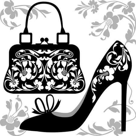 Illustration pour Fashion concept - image libre de droit