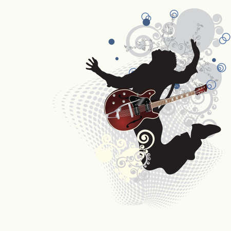 Illustration for Music poster  - Royalty Free Image