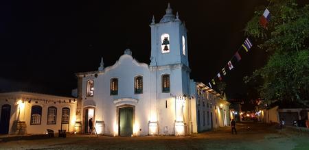 Foto de Church in historic city of Paraty - Imagen libre de derechos