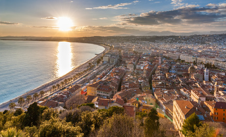 View of Nice city - Cote dAzur