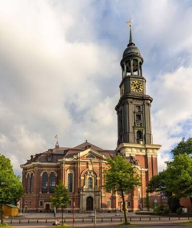 St  Michaelis Church in Hamburg, Germany