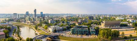 Panorama of Vilnius - Lithuania