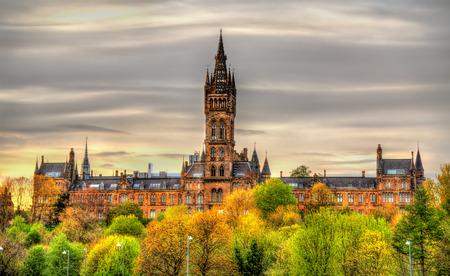 Photo pour View of the University of Glasgow - Scotland - image libre de droit