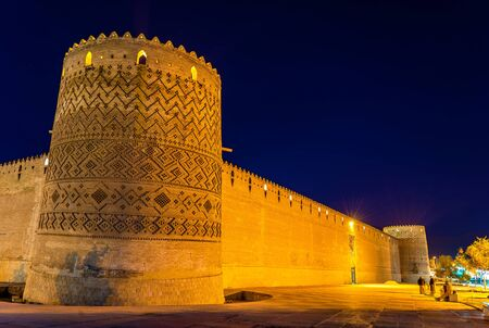 Karim Khan citadel at night in Shiraz - Iran