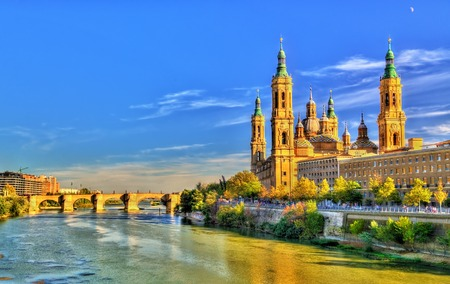 Basilica of Our Lady of the Pillar in Zaragoza, Spain