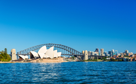 Sydney Opera House and Harbour Bridge - Australia, New South Wales