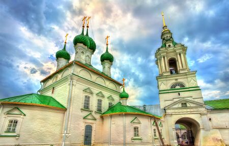 Church of the Savior at the trading arcades in Kostroma, Russia