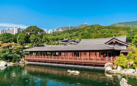 Photo for Nan Lian Garden, a Chinese Classical Garden in Hong Kong - Royalty Free Image