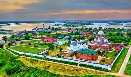Church of the Holy Trinity in the town-island of Sviyazhsk in Russia