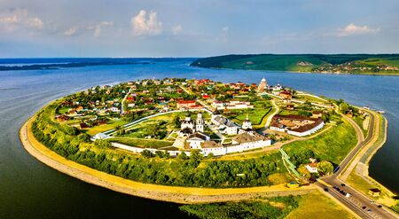 The town-island of Sviyazhsk in Russia
