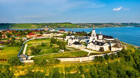 The Assumption Cathedral and Monastery in the town-island of Sviyazhsk in Russia